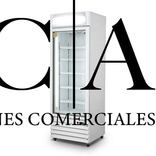 ICCOLD Freezer Vertical Puerta Vidrio FD-LD57 350 Lts